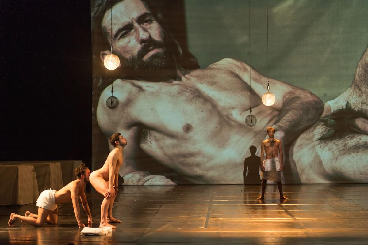 Probe zu Mount Olympus von Jan Fabre im Festspielhaus Berlin