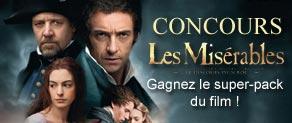 [Concours Terminé] Les Misérables de Tom Hooper en DVD & Blu-Ray