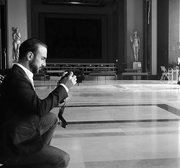 Olivier Ciappa photographie les personnalités.