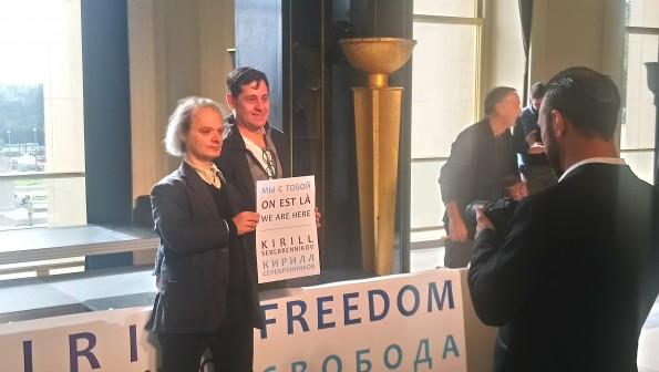 André Markowicz affiche son soutien à Kirill Serebrennikov
